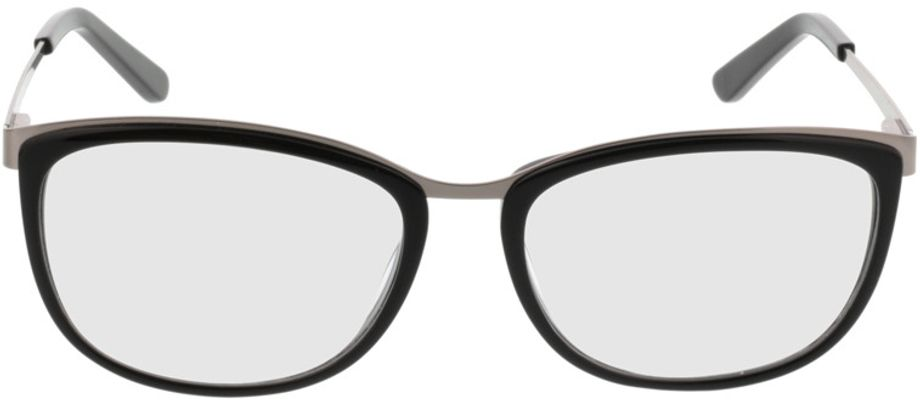 Picture of glasses model Comma70006 32 schwarz/silber 52-16 in angle 0