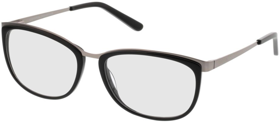 Picture of glasses model Comma70006 32 schwarz/silber 52-16 in angle 330
