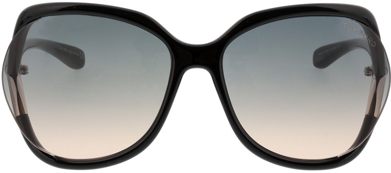 Picture of glasses model Tom Ford Anouk FT0578 01B  in angle 0