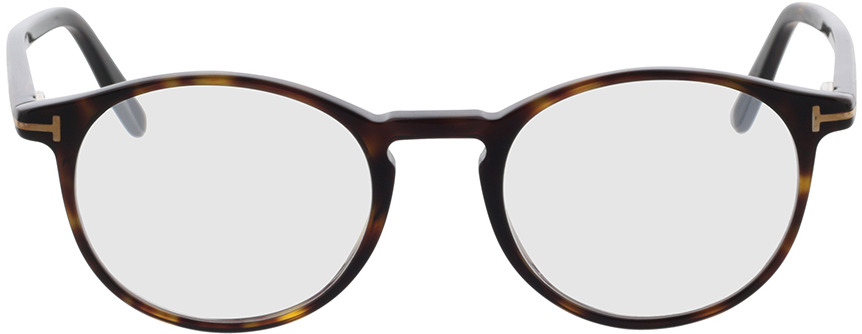 Picture of glasses model Tom Ford FT5294 52A 50-20 in angle 0
