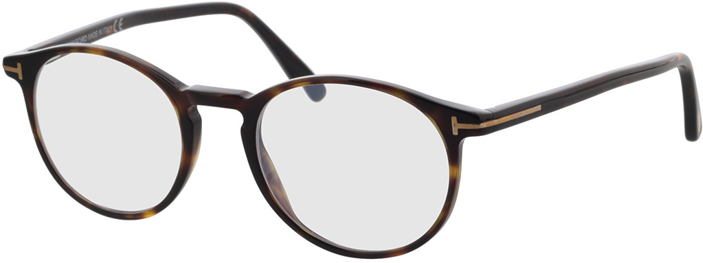 Picture of glasses model Tom Ford FT5294 52A 50-20 in angle 330