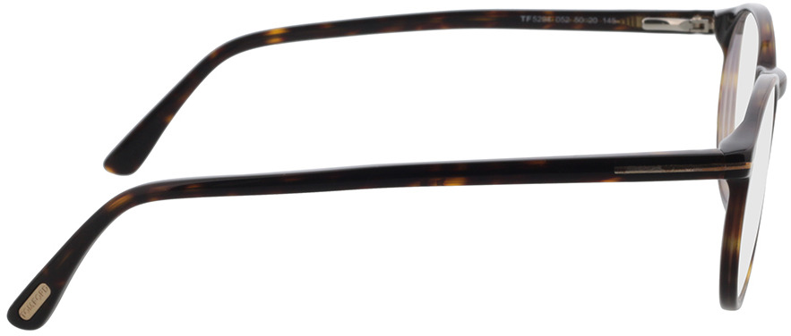 Picture of glasses model Tom Ford FT5294 52A 50-20 in angle 90