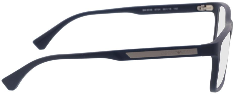 Picture of glasses model Emporio Armani EA3038 5754 56-16 in angle 90