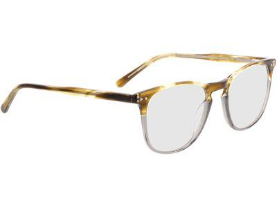 Brille Abadin-gelb-meliert/grau