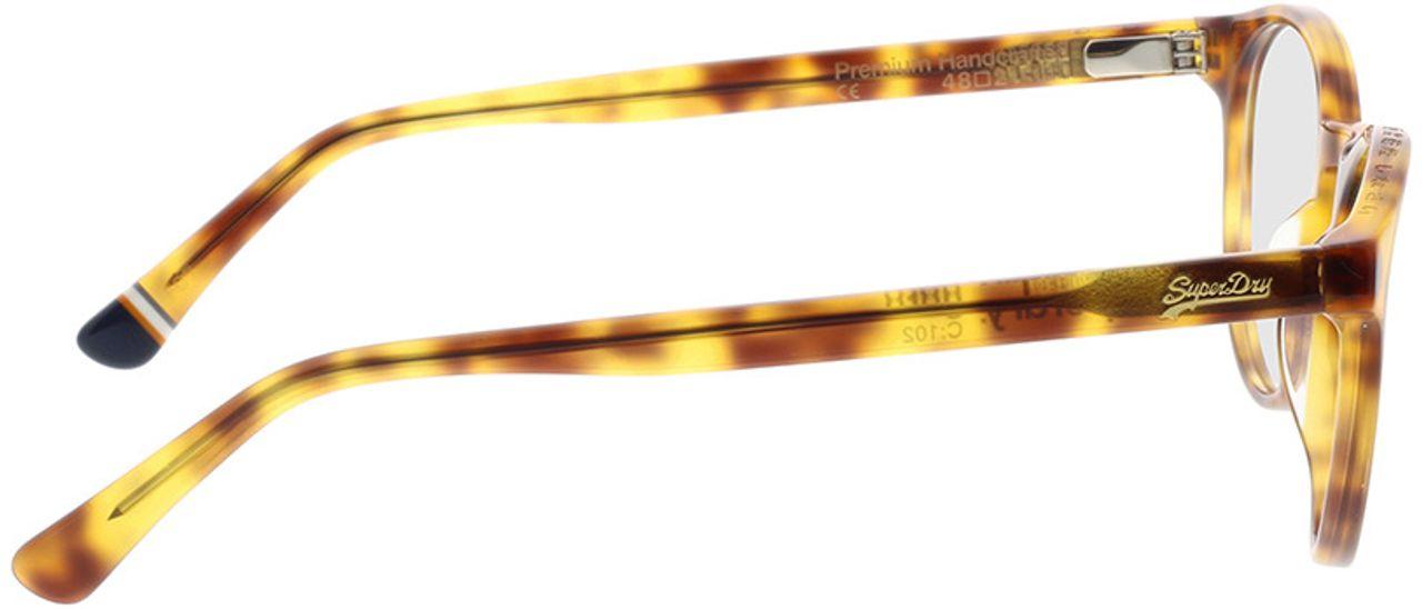 Picture of glasses model Superdry SDO Goro 102 havanna 48-21 in angle 90