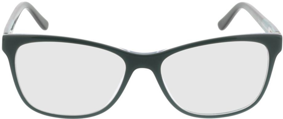 Picture of glasses model Comma70016 50 türkis/schwarz 52-15 in angle 0