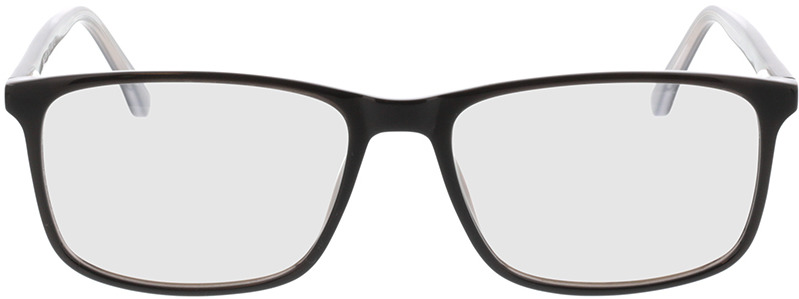 Picture of glasses model Gotland zwart in angle 0