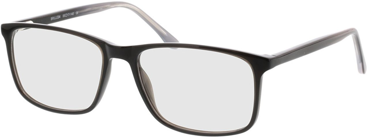 Picture of glasses model Gotland-black in angle 330