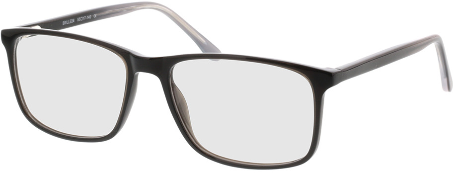 Picture of glasses model Gotland zwart in angle 330