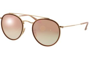 Ray-Ban Round Double Bridge RB3647N 001/7O 51-22