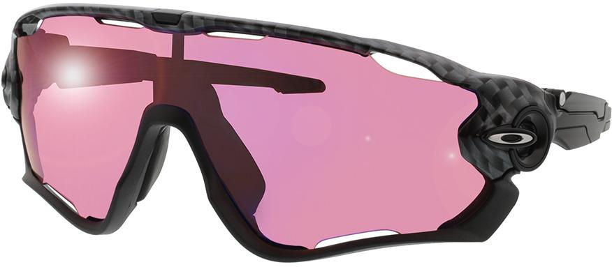 Picture of glasses model Oakley Jawbreaker OO9290 25 31-131 in angle 330