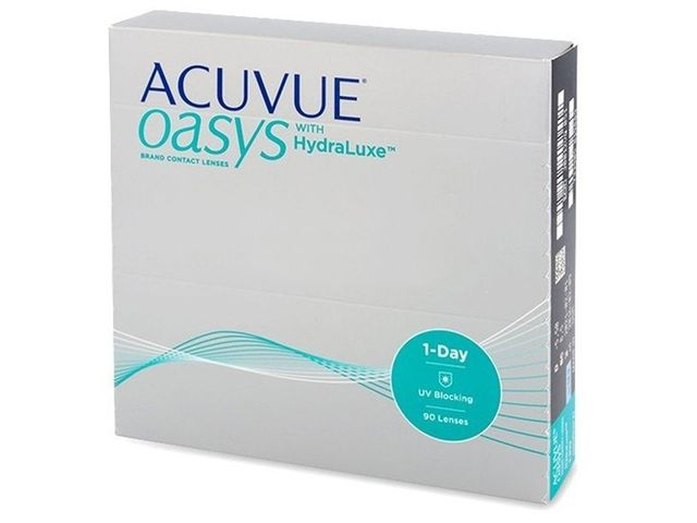 Acuvue Oasys 1-Day with HydraLuxe 90er Box