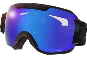 Skibrille Downhill 2000 CV Black Matt/Mirror Blue