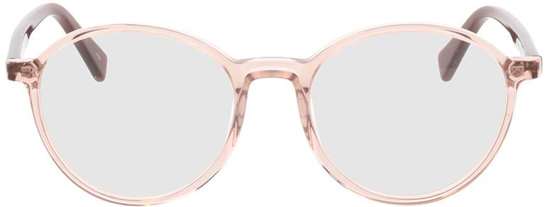 Picture of glasses model Olbia-braun-transparent/orange in angle 0
