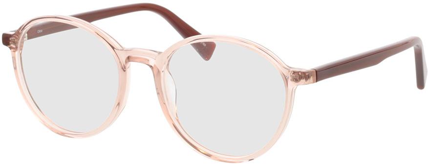 Picture of glasses model Olbia-braun-transparent/orange in angle 330