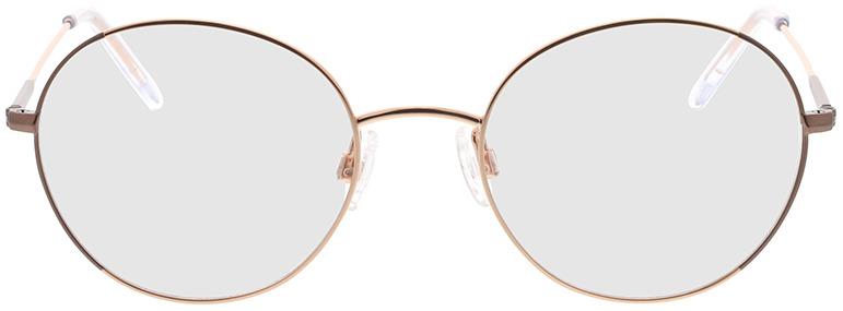 Picture of glasses model Comma, 70095 76 dourado 50-19 in angle 0
