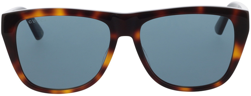 Picture of glasses model Gucci GG0926S-002 57-16 in angle 0