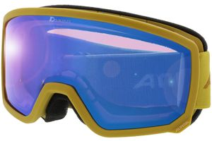 Skibrille SCARABEO S HM curry MIRROR blue
