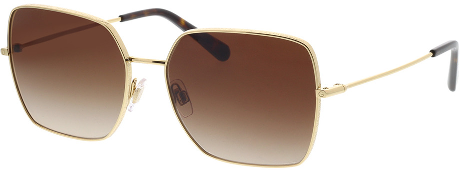 Picture of glasses model Dolce&Gabbana DG2242 02/13 57-16 in angle 330