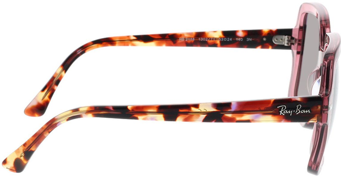 Picture of glasses model Ray-Ban RB2188 130271 53-24 in angle 90