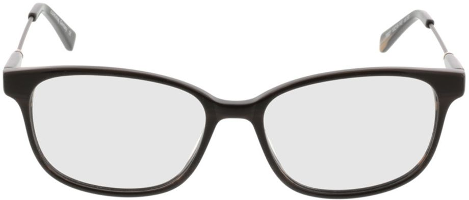 Picture of glasses model Comma70027 60 braun 53-16 in angle 0