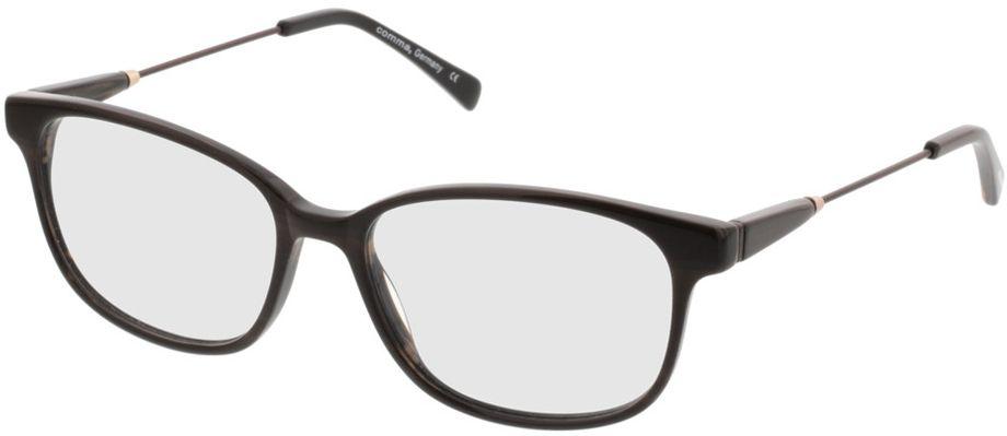 Picture of glasses model Comma70027 60 braun 53-16 in angle 330