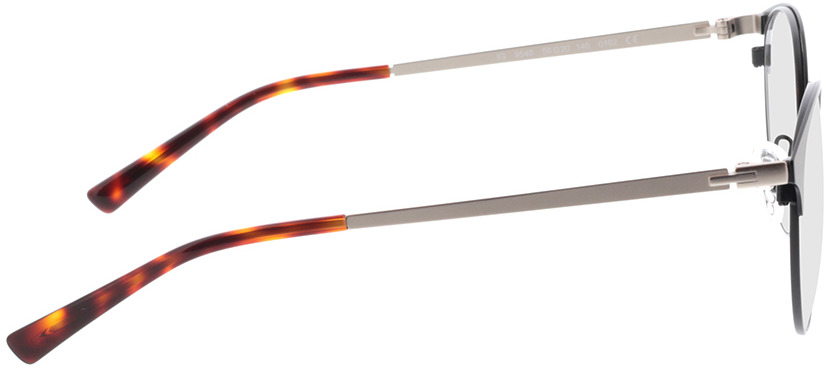 Picture of glasses model Lindale-mate preto in angle 90