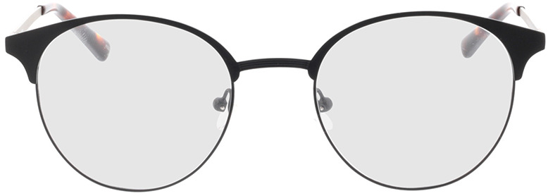 Picture of glasses model Lindale-mate preto in angle 0