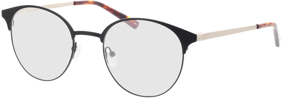 Picture of glasses model Lindale-mate preto in angle 330