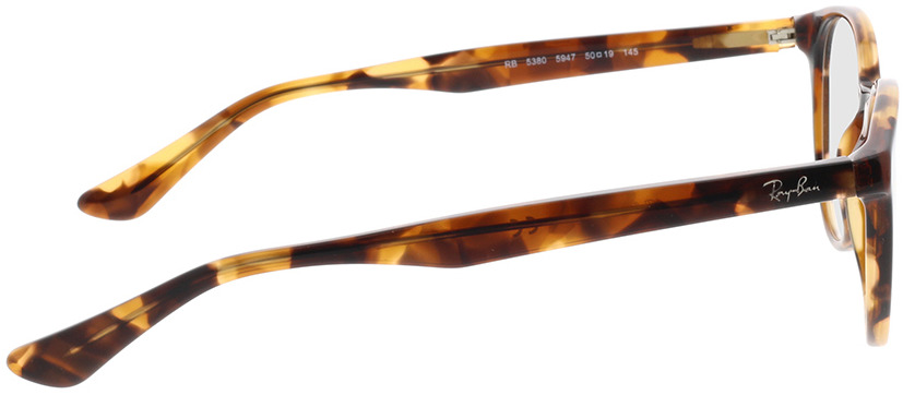 Picture of glasses model Ray-Ban RX5380 5947 50-19 in angle 90