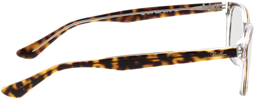 Picture of glasses model Ray-Ban RX5375 5082 51-18 in angle 90