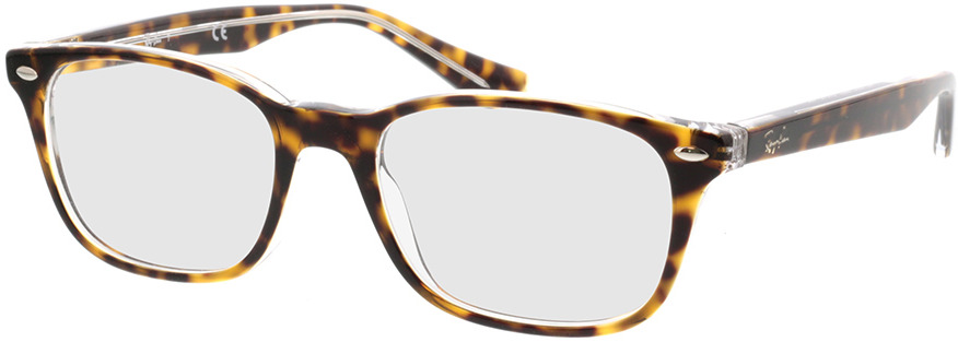 Picture of glasses model Ray-Ban RX5375 5082 51-18 in angle 330