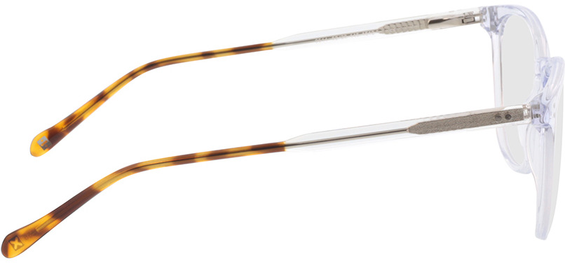 Picture of glasses model Opua-transparent/havana in angle 90
