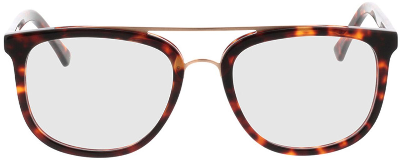 Picture of glasses model Makasar-braun-meliert in angle 0