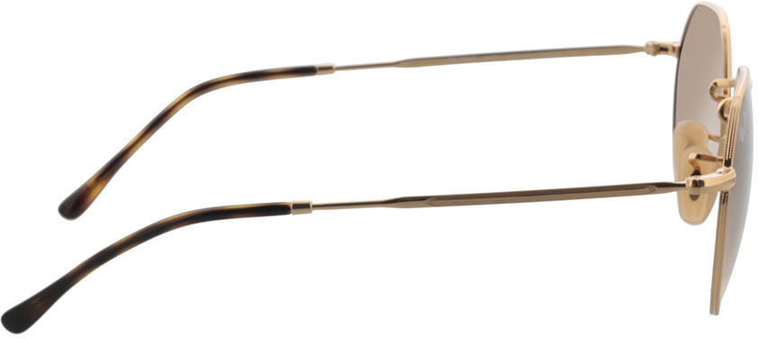 Picture of glasses model Ray-Ban RB3565 001/51 53-20 in angle 90