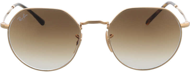 Picture of glasses model Ray-Ban RB3565 001/51 53-20 in angle 0
