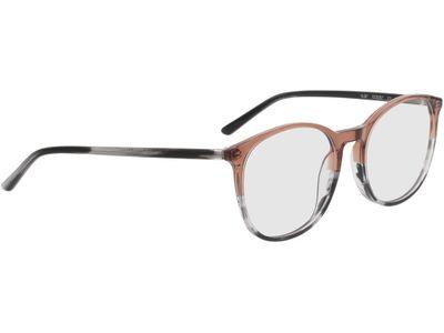 Brille Montrose-braun/grau-meliert