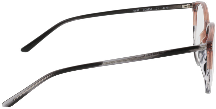 Picture of glasses model Montrose-braun/grau-meliert in angle 90