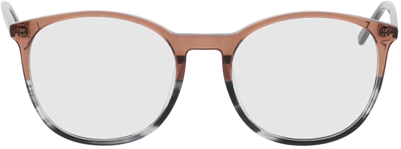 Picture of glasses model Montrose-braun/grau-meliert in angle 0