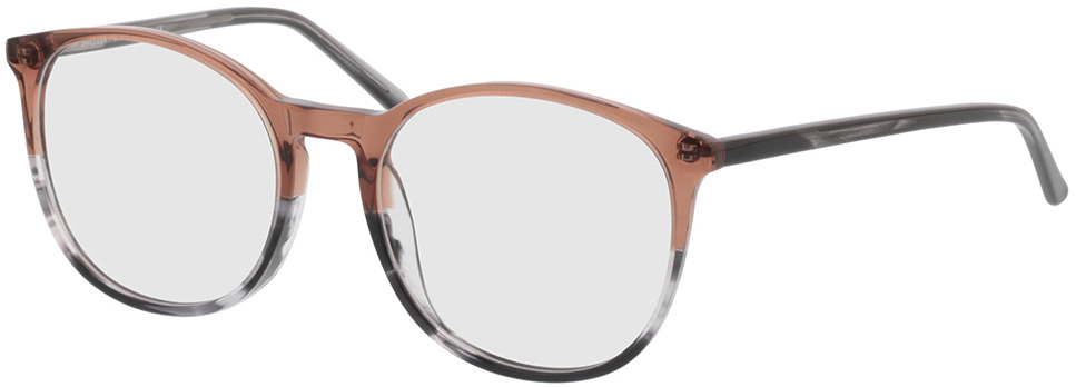 Picture of glasses model Montrose-braun/grau-meliert in angle 330