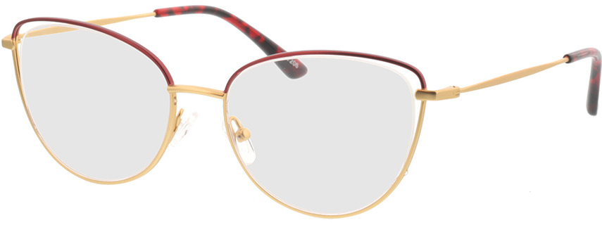Picture of glasses model Juna-gold/rot in angle 330