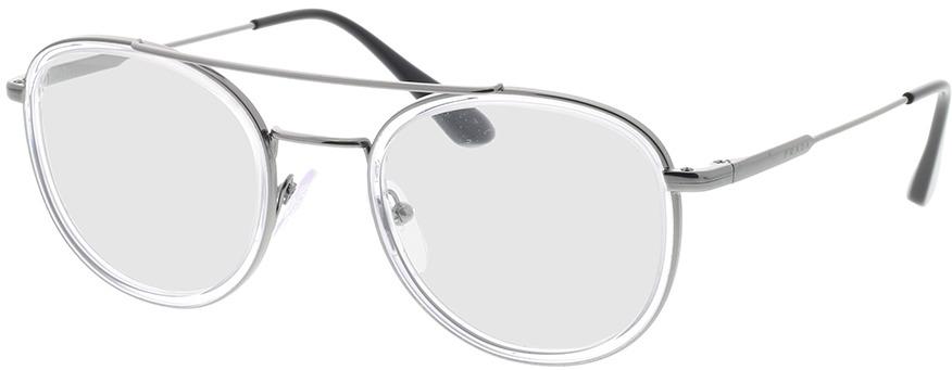 Picture of glasses model Prada PR 66XV 07A1O1 49-22 in angle 330
