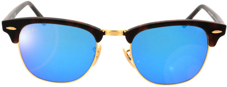 Picture of glasses model Ray-Ban Clubmaster RB3016 114517 51-21 in angle 0