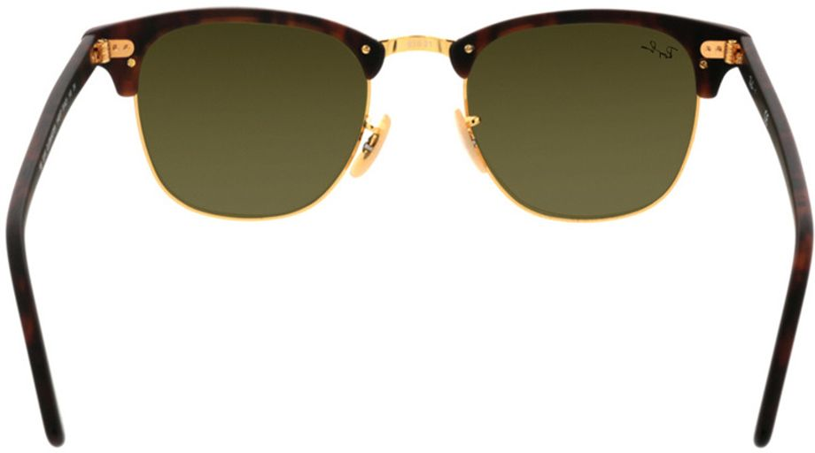 Picture of glasses model Ray-Ban Clubmaster RB3016 114517 51-21 in angle 180