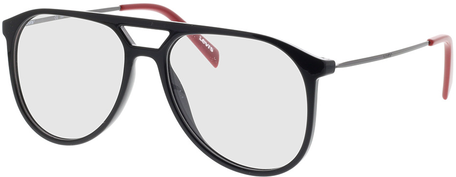 Picture of glasses model Levi's LV 1000 OIT 55-16 in angle 330