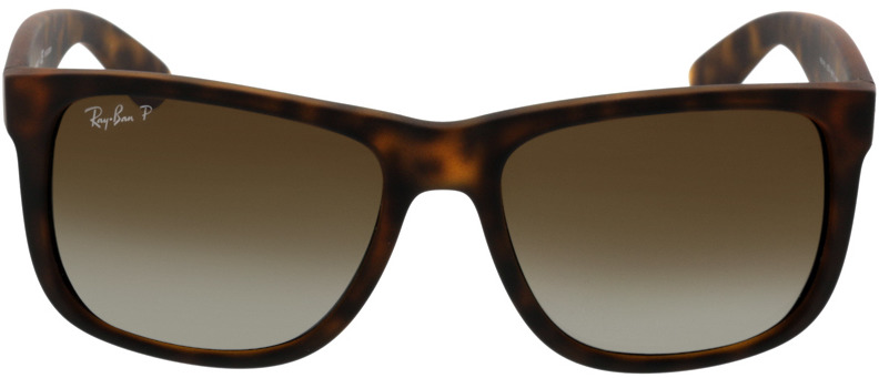 Picture of glasses model Ray-Ban Justin RB4165 865/T5 54-16 in angle 0
