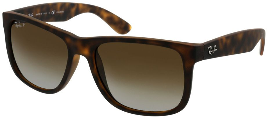 Picture of glasses model Ray-Ban Justin RB4165 865/T5 54-16 in angle 330