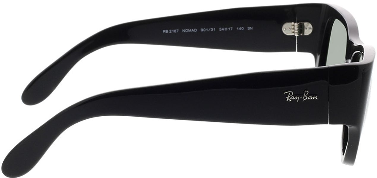 Picture of glasses model Ray-Ban Nomad RB2187 901/31 54-17 in angle 90