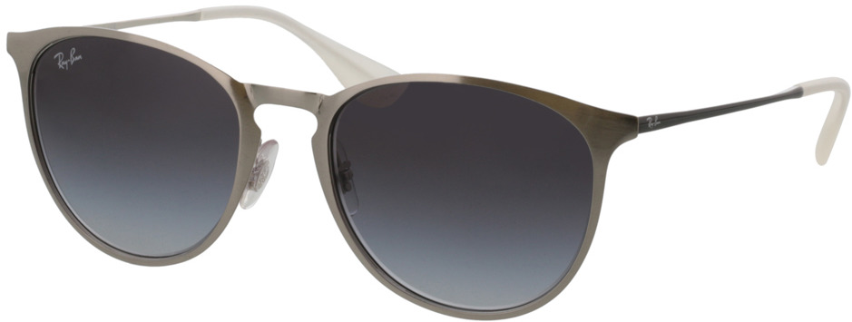 Picture of glasses model Ray-Ban Erika Metal RB3539 90788G 54-19