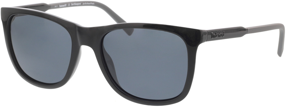 Picture of glasses model Timberland TB9255 01D 56-19 in angle 330